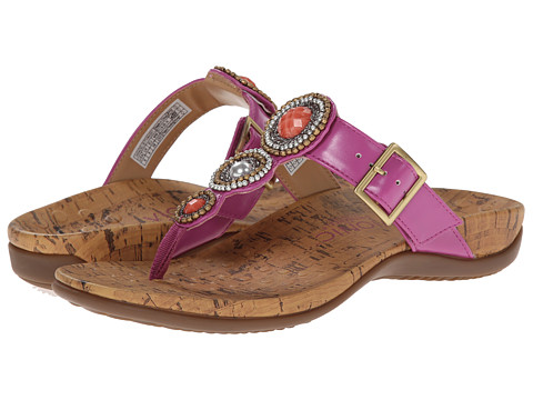 VIONIC with Orthaheel Technology - Adelie (Berry) Women's Sandals
