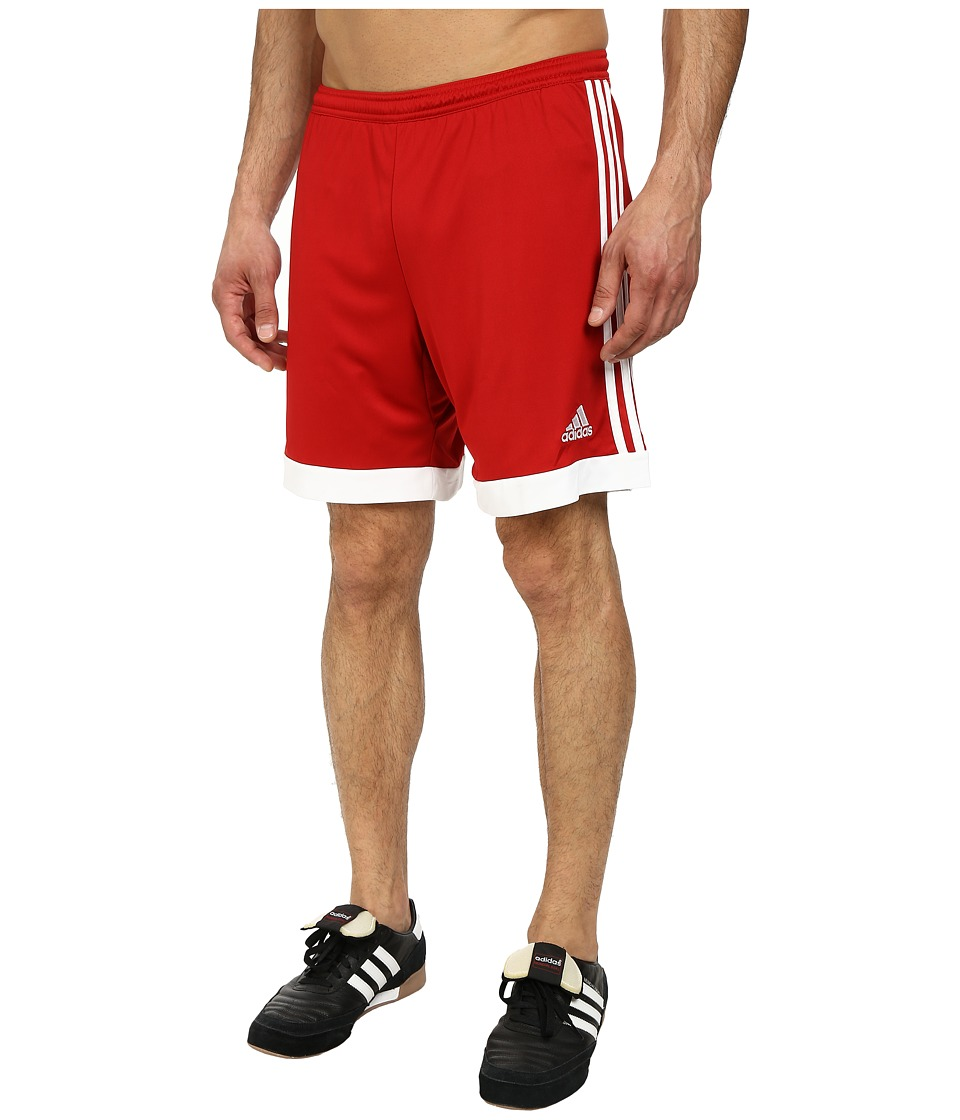 adidas - Tastigo 15 Dry Dye Short (Power Red/White) Men's Shorts