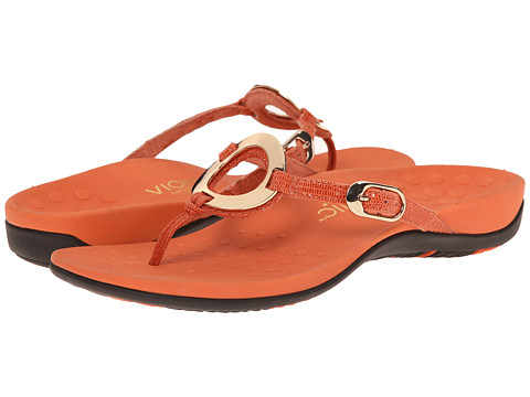 VIONIC with Orthaheel Technology - Karina (Tigerlily Lizard) Women's Sandals