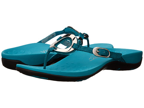 VIONIC with Orthaheel Technology - Karina (Turquoise Lizard) Women