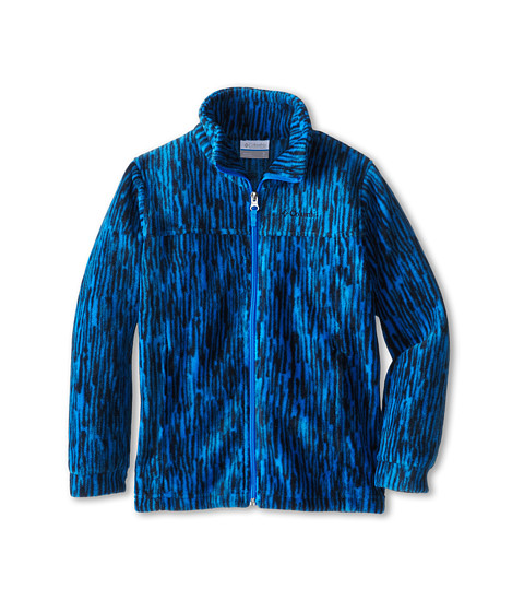 Columbia Kids - Zing III Fleece (Little Kids/Big Kids) (Hyper Blue Print) Boy