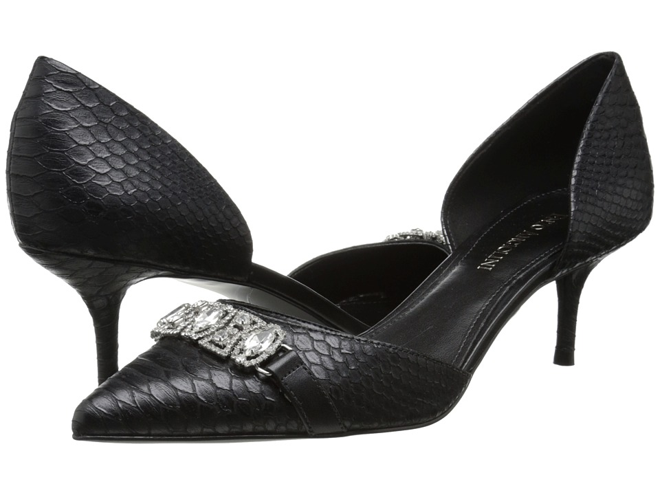 Enzo Angiolini Gabela (Black/Black Synthetic) High Heels