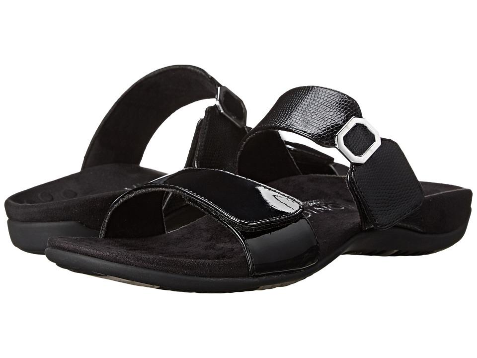 VIONIC - Camila (Black Patent/Black) Women's Slide Shoes