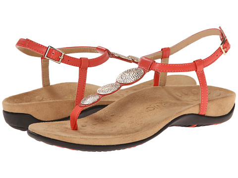 VIONIC with Orthaheel Technology - Lizbeth (Coral) Women's Sandals