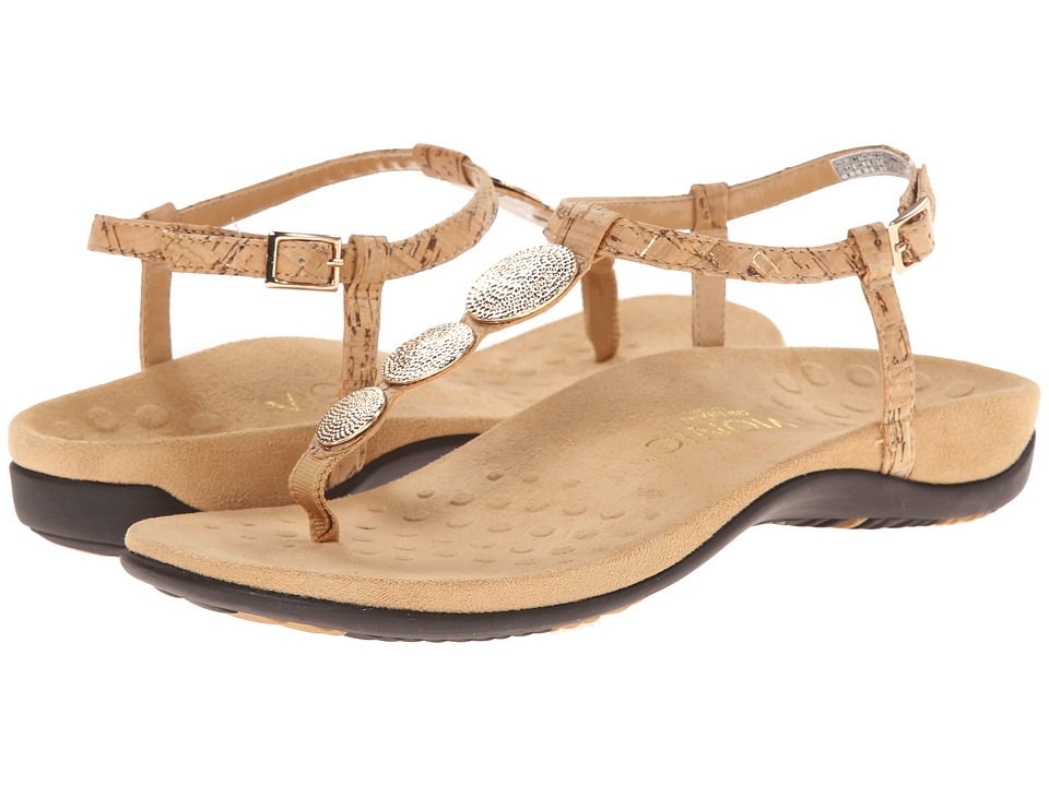 VIONIC - Rest Lizbeth (Gold Cork) Women's Sandals