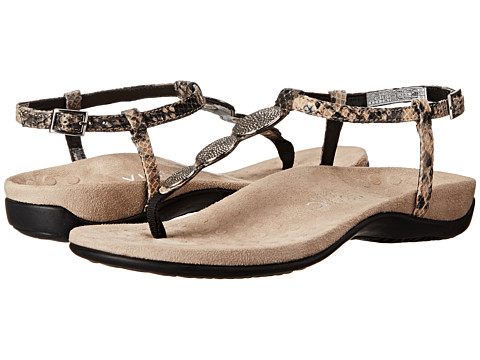 VIONIC with Orthaheel Technology - Lizbeth (Natural Snake) Women's Sandals