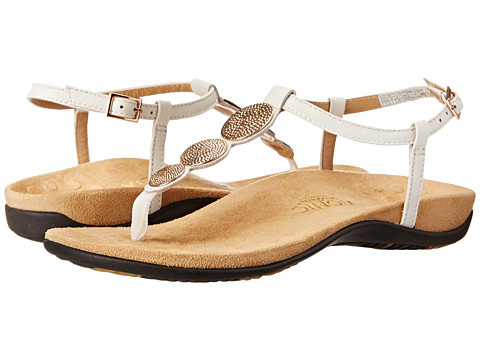 VIONIC with Orthaheel Technology - Lizbeth (White) Women's Sandals