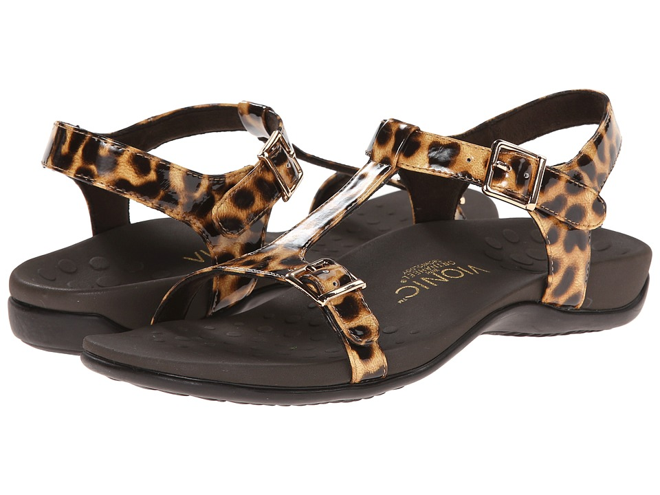 VIONIC with Orthaheel Technology - Adriane (Leopard) Women's Sandals