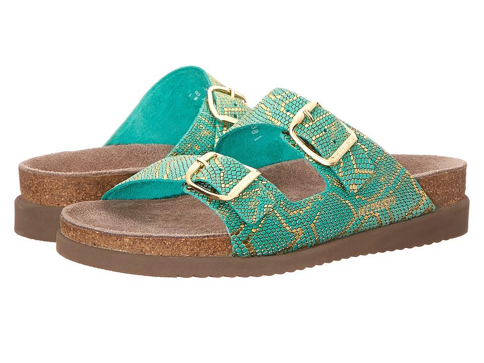 Mephisto - Harmony (Mint Nairobi) Women's Sandals