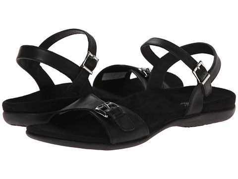 VIONIC with Orthaheel Technology - Alita (Black) Women's Sandals