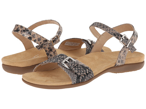 VIONIC with Orthaheel Technology - Alita (Natural Snake) Women's Sandals