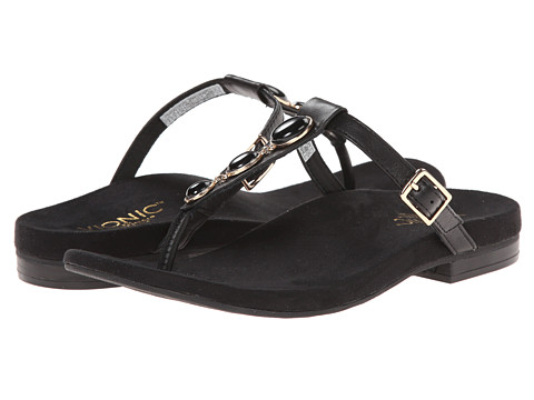 VIONIC with Orthaheel Technology - Jada (Black) Women's Sandals