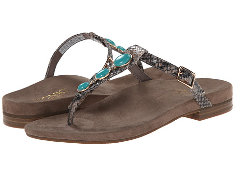 VIONIC with Orthaheel Technology - Jada (Natural Snake) Women's Sandals