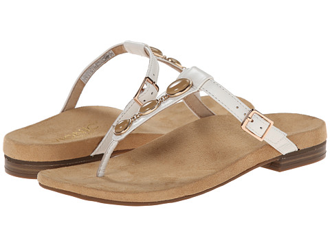 VIONIC with Orthaheel Technology - Jada (White) Women's Sandals