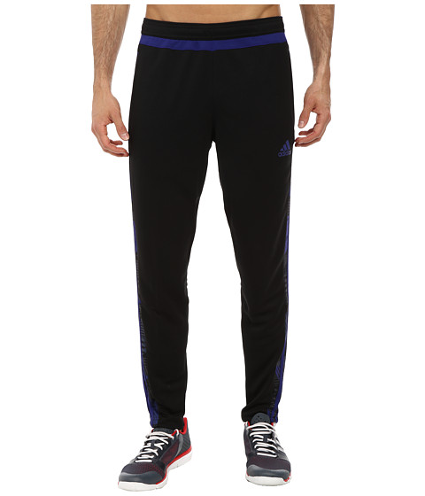 adidas - Tiro 15+ Graphic Pant (Black/Amazon Purple/Night Flash) Men