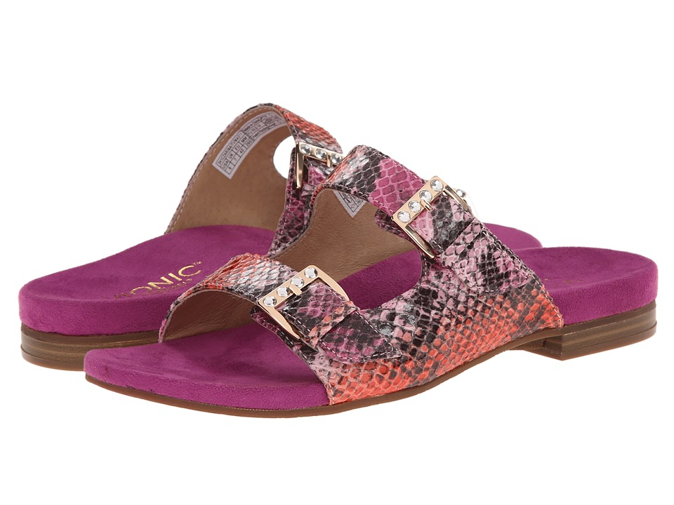 VIONIC - Czarina (Pink Snake) Women's Slide Shoes