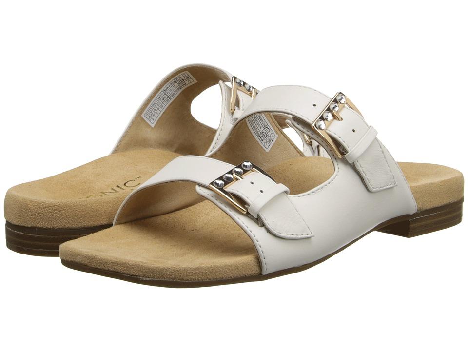 VIONIC - Czarina (White) Women's Slide Shoes