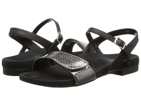 VIONIC with Orthaheel Technology - Sondra (Black) Women's Sandals