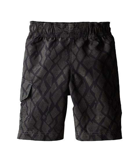 Columbia Kids - Solar Stream II Boardshort (Little Kids/Big Kids) (Black Print) Boy's Swimwear