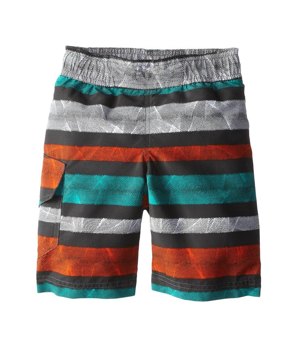 Columbia Kids - Solar Stream II Boardshort (Little Kids/Big Kids) (Grill Stripe) Boy