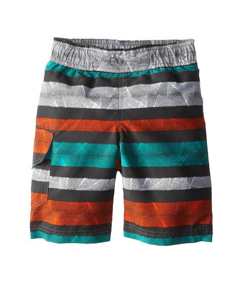 Columbia Kids - Solar Stream II Boardshort (Little Kids/Big Kids) (Grill Stripe) Boy's Swimwear