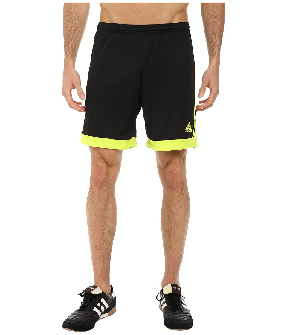 adidas - Tastigo 15 Short (Black/Semi Solar Yellow) Men's Shorts
