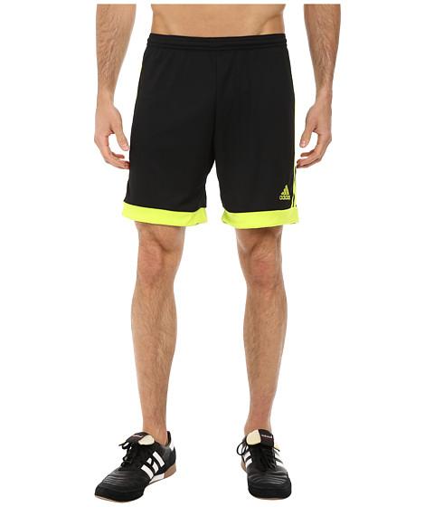 adidas - Tastigo 15 Short (Black/Semi Solar Yellow) Men's Shorts