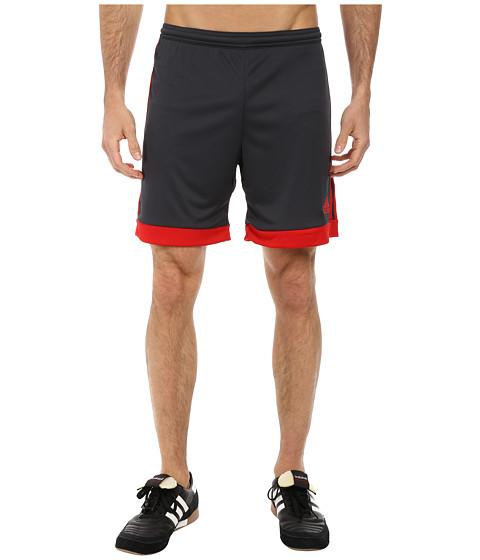 adidas - Tastigo 15 Short (Dark Grey/Scarlet) Men's Shorts