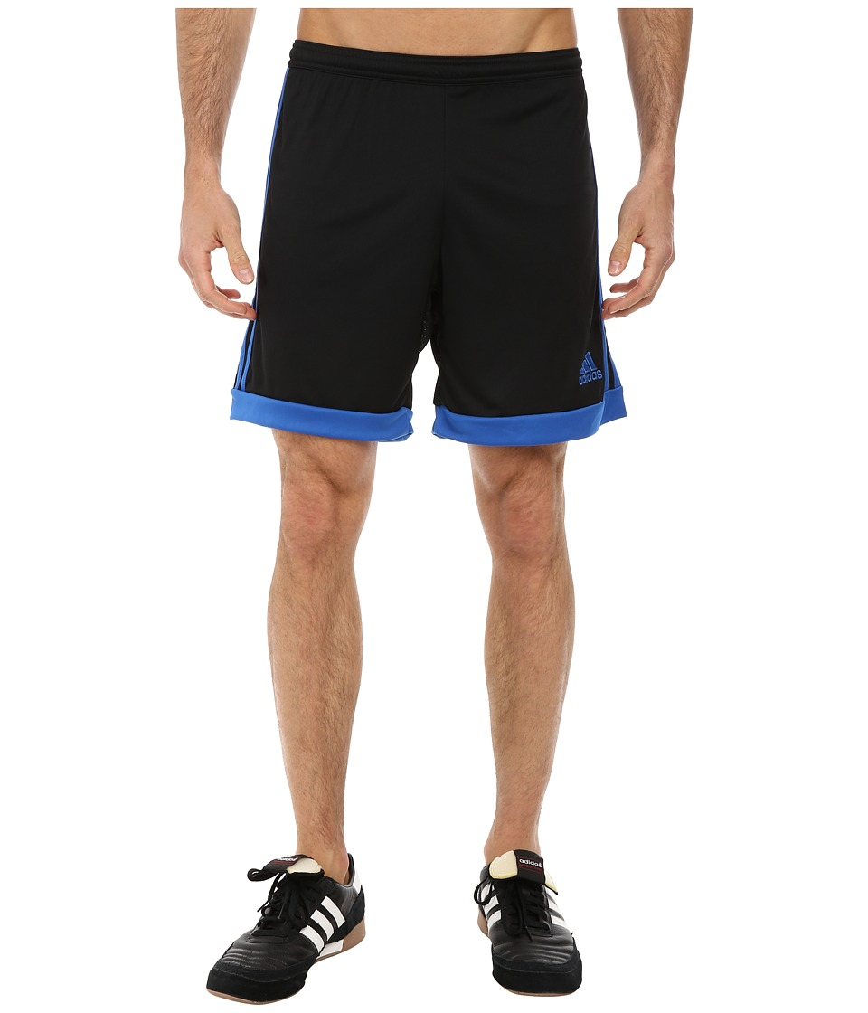 adidas - Tastigo 15 Short (Black/Bright Royal) Men's Shorts