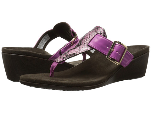 VIONIC with Orthaheel Technology - Alanis (Pink Snake) Women's Wedge Shoes