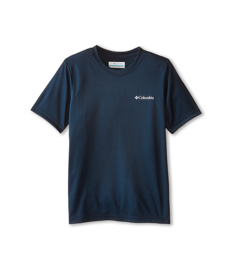 Columbia Kids - Graphic Tee (Little Kids/Big Kids) (Collegiate Navy Peg) Boy's T Shirt