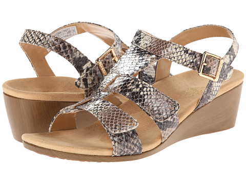 VIONIC with Orthaheel Technology - Glenda (Natural Snake) Women's Wedge Shoes