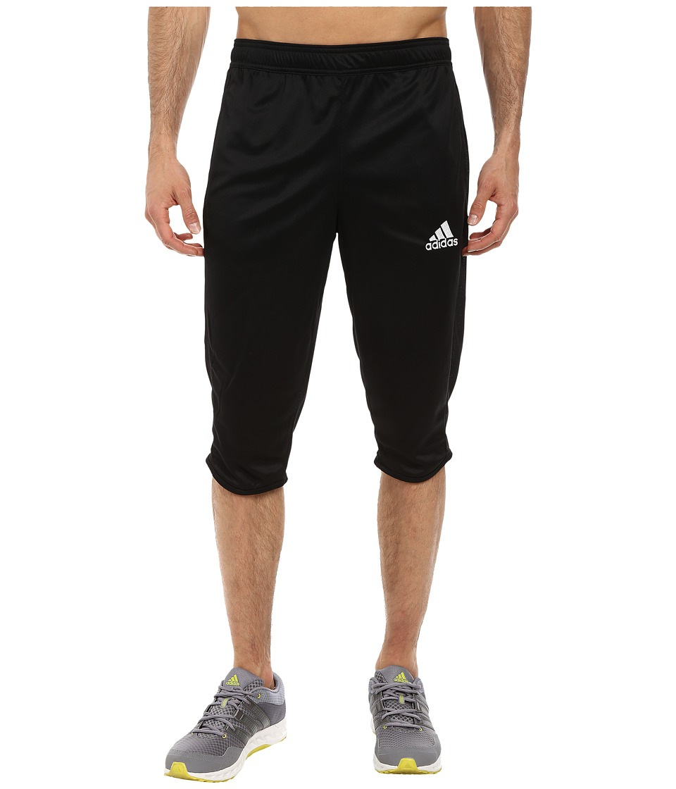 adidas - Core 15 Three-Quarter Pant (Black/White) Men's Casual Pants