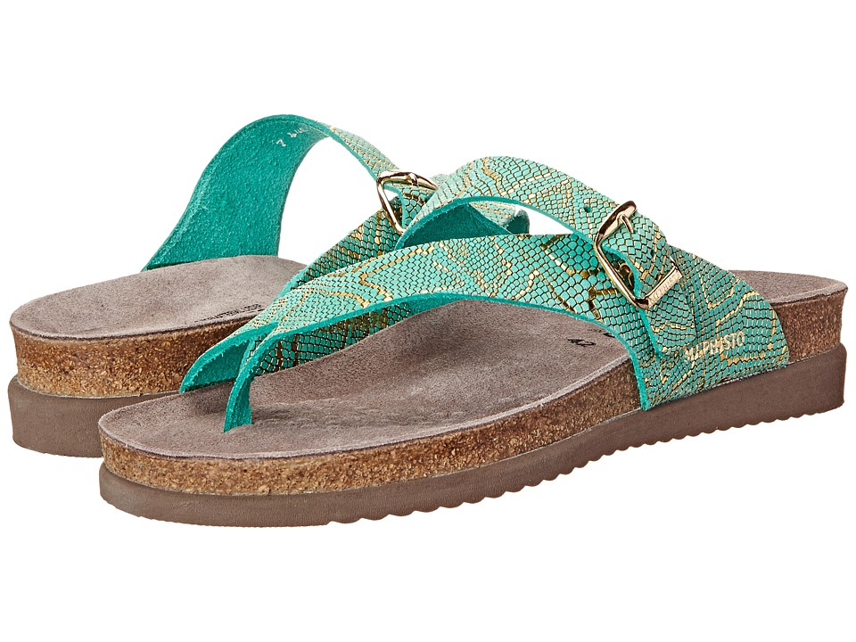 Mephisto - Helen (Mint Nairobi) Women's Sandals