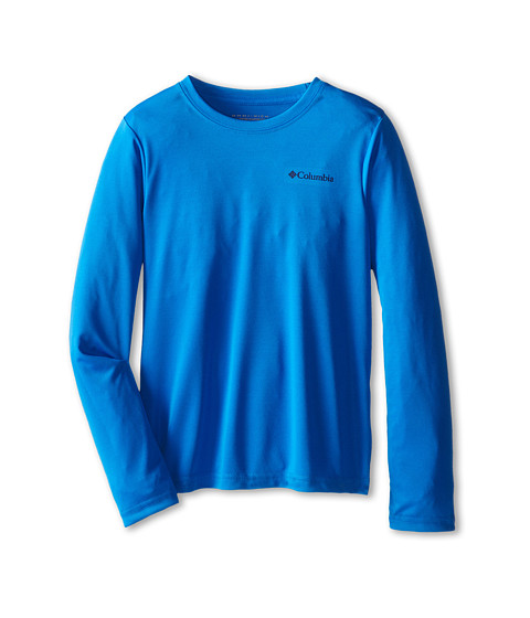 Columbia Kids - Terminal Tackle L/S Tee (Little Kids/Big Kids) (Hyper Blue/Collegiate Navy) Boy's T Shirt