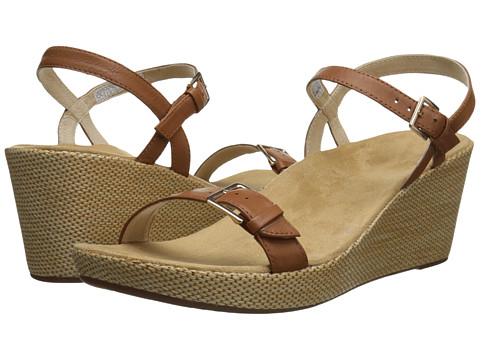 VIONIC with Orthaheel Technology - Enisa (Tan) Women's Wedge Shoes