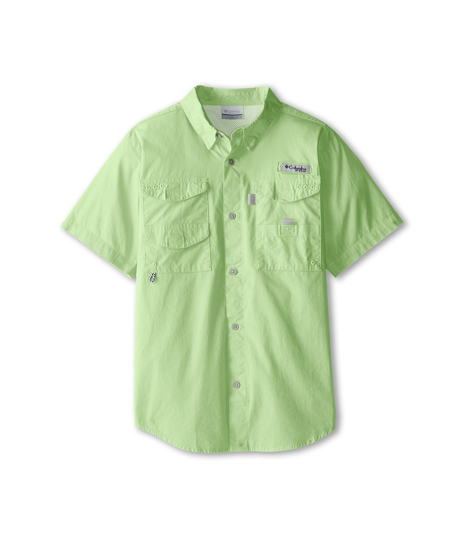 Columbia Kids - Bonehead S/S Shirt (Little Kids/Big Kids) (Key West) Boy's Short Sleeve Button Up