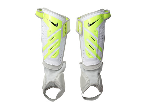 Nike - Protegga Shield (White/Volt/Black) Athletic Sports Equipment