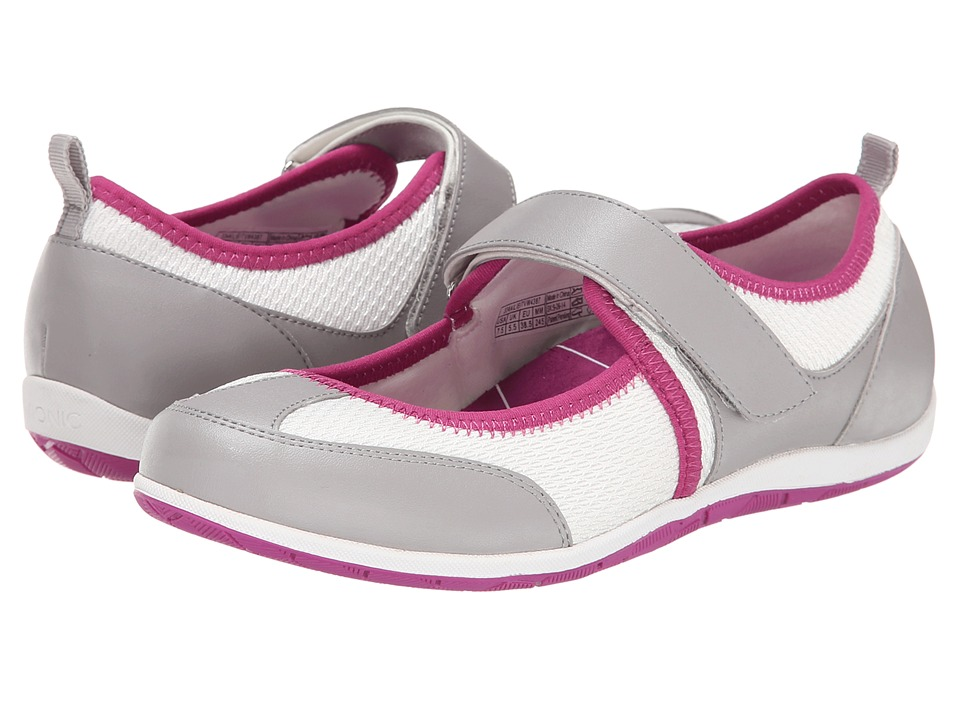 VIONIC - Ailie (White/Fuchsia) Women's Maryjane Shoes