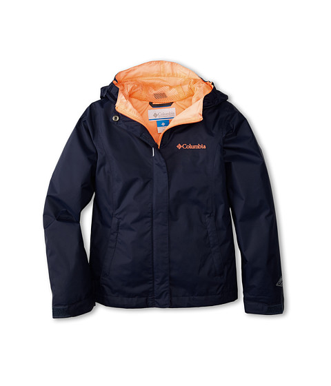 Columbia Kids - Arcadia Jacket (Little Kids/Big Kids) (Collegiate Navy/Coral Glow) Girl