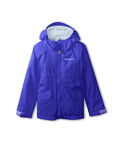 Columbia Kids - Trail Trooper Rain Jacket (Little Kids/Big Kids) (Light Grape) Girl's Jacket