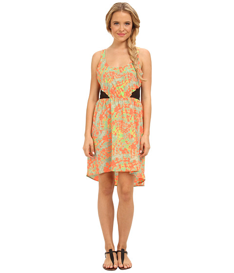 Hurley - Ember Dress (Bright Mango) Women's Sleeveless