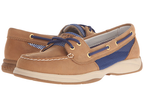 Sperry Top-Sider - Laguna Open Mesh (Tan/Cobalt) Women