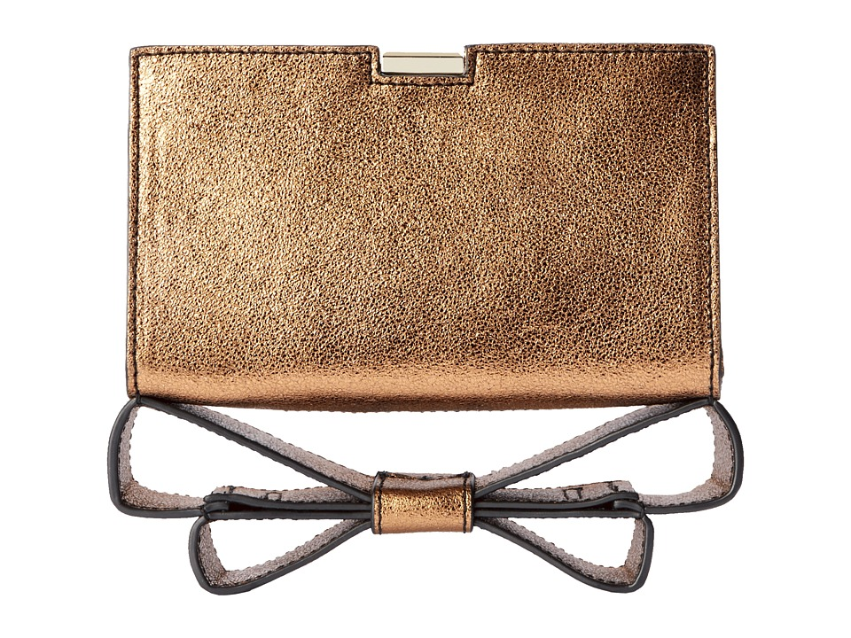 ZAC Zac Posen Milla Clutch (Copper) Clutch Handbags