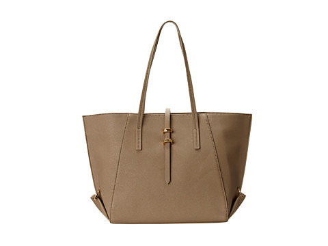 ZAC Zac Posen - Eartha Mini Shopper (Concrete) Tote Handbags