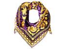 Versace Leopard Spots and Scrolls Foulard (Purple)