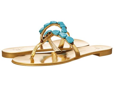 Giuseppe Zanotti - E50168 (Mirror Oro) Women's Sandals
