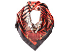 Versace Striped Scroll Foulard