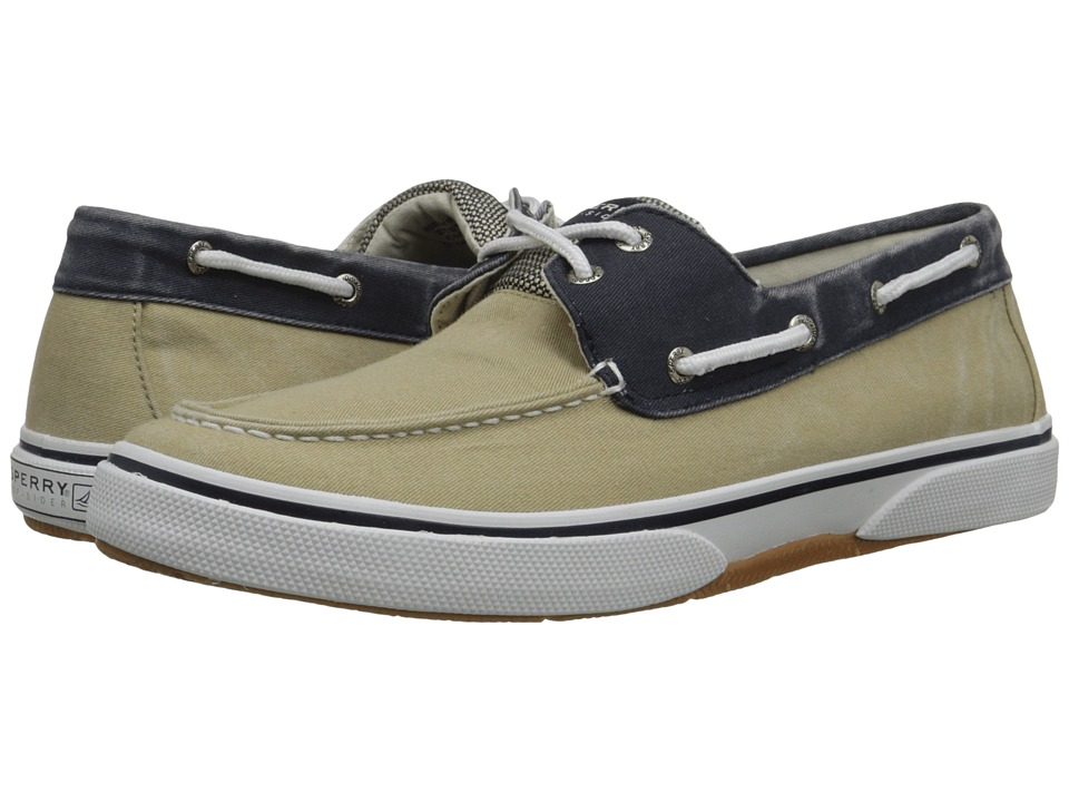 Sperry Top-Sider - Halyard 2-Eye (Chino/Navy) Men