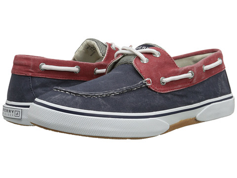 Sperry Top-Sider - Halyard 2-Eye (Red/Navy/White) Men